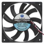 AINEX OMEGA TYPHOON 薄型・超静音タイプ  120mm角  CFZ-12015SA 送料無料