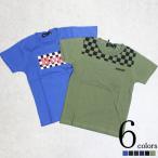 キッズ 子供服 Tシャツ カットソー プリント 半袖 全6色 1910