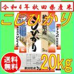 コシヒカリ 5kg×4袋 秋田県産 お米 20kg 29年産新米 白米 送料無料