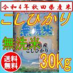 【新米】【令和元年産】コシヒカリ無洗米 5kg×6袋 秋田県産 米 30kg 無洗米 送料無料