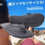 サンダル インナーチューブ 廃タイヤを使った島民のハンドメイド エコ インドネシア埋め立てタイヤの危機を救う!インドソール カジュアルサンダル Indosole