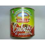業務用トマト缶 ディベラ ダイストマト 業務用 ケース売り 2500g x 6 イタリア産