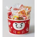 お正月 XS851 ロールフリーカップ(招福ダルマ)5枚お正月 お年賀 惣菜容器・容器・チキン・フライドチキン・ポップコーン・フードコンテナ・ギフト・プレゼント