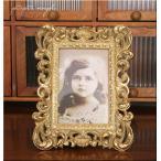 デコレクト フォトフレーム ロココ調 ゴールド アンティーク調 ディスプレイ 結婚式 ブライダルフレーム 結婚写真