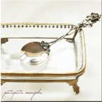 銀 の ローズ スプーン イタリア製 銀のスプーン 出産祝い カトラリーシルバーカトラリー 銀製カトラリー バラ 薔薇