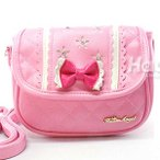 ショッピングポシェット 子どもバッグ 子供 可愛いリボンショルダー ポシェットりぼんがポイント 子供用バッグ