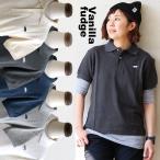 Vanilla fudge[バニラファッジ] スラブ鹿の子素材 ブタ刺繍 ボックスシルエット ポロシャツ(6色)