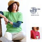 (グッドオン) GOOD ON 半袖 クルーネック Tシャツ 顔料染め ピグメントダイ 円胴編み 綿100%