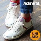 (アドミラル) Admiral Watford ワトフォード シンセティックレザー ローカット スニーカートリコロール メンズ シューズ 白 靴