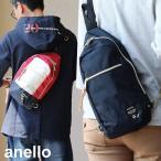 anello - (アネロ) anelloボディバッグ ショルダーバッグ ポリキャンバス 鞄 バッグ