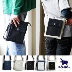 (セカンド) s&nd お財布バッグ ミニショルダー バッグ 高密度ポリキャンバス ネイビー ブラック アイボリー バッグインバッグ