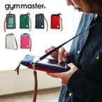 ポーチ スマホポーチ スウェット生地 ショルダーデザイン スマートフォンケース  (ジムマスター) gymmaster