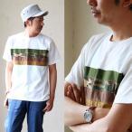 Tシャツ 半袖 パッチワーク 切替 異素材 カットソー レディース メンズ (ジーアールエヌ) grn