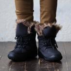 ブーツ スノーブーツ レースアップ ショート丈 ミドル丈 中綿 ボア付き 撥水加工 防水 防滑