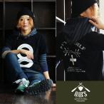 【予約販売】半袖Tシャツ 【eight+】 ハーフラバー プリント クルーネック 綿100% 6.2オンス (オールズ) OAR'S