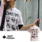 半袖 Tシャツ 【ALWAYS SMILE】発泡 立体 プリント 綿100% カジュアル (ジムマスター) gymmaster