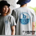【予約販売】半袖 Tシャツ 7.1オンス USコットン ヘビーウェイト 【61】  プリント 丸胴 (ブルート) BLUETO