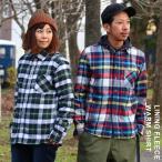 【予約販売】ネルシャツ チェックシャツ 総裏地フリース フリース ウォームシャツ フランネル チェック
