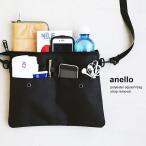 サコッシュ ショルダー バッグ 鞄 カバン 500ml ペットボトル ストラップ 取り外し 可能 ポーチ (アネロ) anello  レディース メンズ