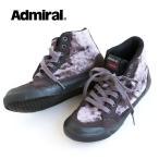 Admiral INOMER HI F スニーカー ハイカット シューズ 靴 ベロア ユニオンジャック レースアップ カジュアル ストリート レディース 25.0 24.0 23.0