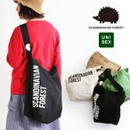 SCANDINAVIAN FOREST トートバッグ BAG 鞄 かばん BIG プリント コットン カジュアル レディース メンズ グリーン ベージュ ブラウン ブラック
