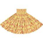 黄色のパウスカート プルメリア柄 spau-2819YW