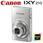 キヤノン コンパクトデジタルカメラ IXY 210 イクシー デジカメ コンデジ IXY210-SL シルバー 1798C001