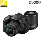 ニコン デジタル一眼レフカメラ D5300 ダブルズームキット2 D5300WZOOMKITBK2 ブラック