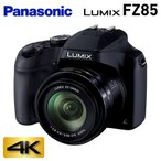パナソニック デジタルカメラ コンパクトカメラ LUMIX ルミックス デジカメ コンデジ 広角 超望遠ズームカメラ 4K PHOTO DC-FZ85-K