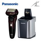 パナソニック メンズシェーバー ラムダッシュ 全自動洗浄充電器付き 5枚刃 ES-LV7B-T 茶