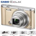 ショッピングHIGH カシオ デジタルカメラ HIGH SPEED EXILIM EX-ZR1800 エクシリム EX-ZR1800GD ゴールド