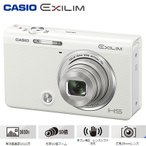 ショッピングHIGH カシオ デジタルカメラ HIGH SPEED EXILIM EX-ZR70 エクシリム EX-ZR70WE ホワイト