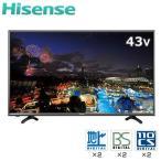 ハイセンス 43V型 LED 液晶テレビ K3121 USBハードディスク録画モデル HJ43K3121