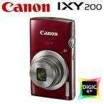 キヤノン コンパクトデジタルカメラ IXY 200 イクシー デジカメ コンデジ IXY200-RE レッド 1810C001