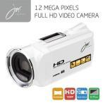 FULLHDビデオカメラ ホワイト JOY5162WH ジョワイユ