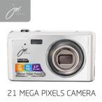 デジタルカメラ 21 MEGA PIXELS ホワイト JOY90SWH ジョワイユ