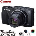 【即納】キヤノン デジタルカメラ パワーショット PowerShot SX710 HS BK ブラック PSSX710HS-BK