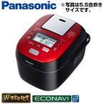 パナソニック 1升炊き スチーム&可変圧力IHジャー炊飯器 Wおどり炊き SR-SPX185-RK ルージュブラック