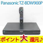 ショッピングブルーレイ 中古 ポイント10倍 送料無料 Panasonic TZ-BDW900P ブルーレイディスクドライブ HDD500GB内蔵 CATVデジタルセットトップボックス S8(NO.02)