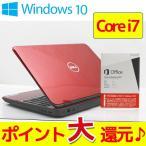 ショッピングOffice Microsoft Office付 ノートパソコン 中古 送料無料 ポイント10倍 DELL Inspiron N5110 Core i7 2630QM 2.0GHz メモリ 8GB HDD 640GB ブルーレイ S1