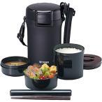 【在庫目安:お取り寄せ】タイガー魔法瓶  LWU-A202KM ステンレスランチジャー 茶碗約4杯分(1.8合) マットブラック