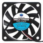 アイネックス CFZ-6010SA OMEGA TYPHOON 60mm 薄型 超静音タイプ 高品質・信頼の日本メーカー製ベアリングで長寿命!