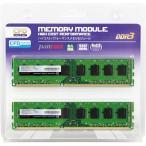 CFD W3U1600PS-4G [DDR3-1600/4GB x2枚] デスクトップ用メモリ 240pin DIMM 2枚組動作確認済セット