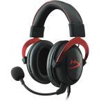 【Gaming Goods】KINGSTON KHX-HSCP-RD 赤/黒 ゲーミングヘッドセット HyperX Cloud II- Pro Gaming Headset