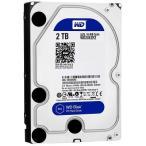 Western Digital WD20EZRZ-RT 2TB 3.5インチ内蔵ハードディスクドライブ WD Blue シリーズ 6Gbps SATA Advanced Format採用