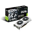 ASUS DUAL-GTX1070-O8G GeForce GTX 1070グラフィックボード ホワイトデュアルファンクーラー搭載