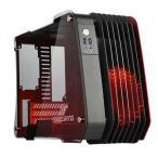 ENERMAX STEELWING ECB2010RB MicroATX用PCケース Red/セミオープン設計をフロント吸気部に採用