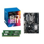 Yahoo!パソコン工房Yahoo!店[お買い得3点セット]Intel Core i7 7700+DDR4-2400 8GB×2枚+ASUS PRIME H270-PLUS 3点セット