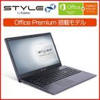 [Microsoft Office Personal付]iiyama PC STYLE∞ ノートパソコン 15HP034-C-EEV-M-OP [15.6型HD/Windows 10 Home/Celeron/8GB/240GB SSD/1TB]