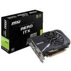 MSI GEFORCE GTX1060 AERO ITX 6G OC GTX1060搭載グラフィックスボード シングルファン設計のショートモデル mini-ITX環境に最適